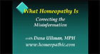 What Homeopathy Is - Correcting the Misinformation (part 1)